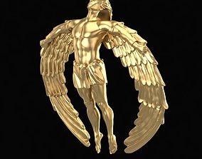 Pendant Icarus 3D printable model