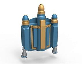 3D print model Axe Woves Jetpack from The Mandalorian TV 1