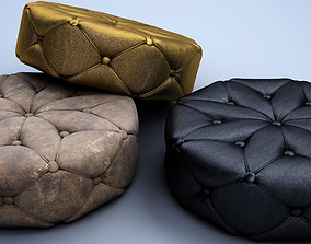 Puff Chair leather 3D