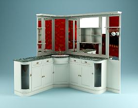 3D Corner Washstand
