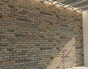 Brick wall Old brick 77 3D model