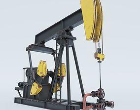 Oil Pumpjack 3D model
