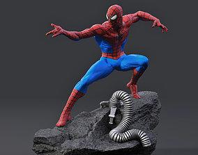 Spider-Man 3d print model spiderverse marvel spiderman
