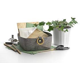 Small Felt Bowl by Loop Design 3D model