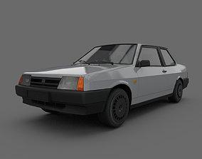 3D model VAZ 21099 COUPE