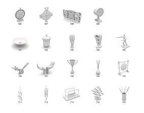 3D home decor accessory