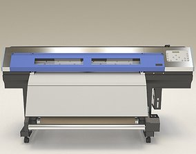 Digital Printer Roland XC - 540 3D asset