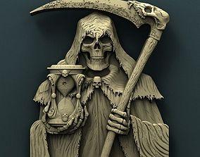 Death 3d stl model for cnc