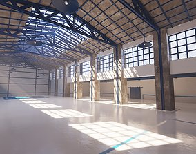SHC Renovated Factory hall 3D asset