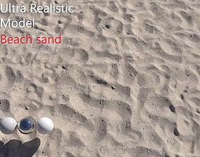 Beach Sand Scan texture 3D