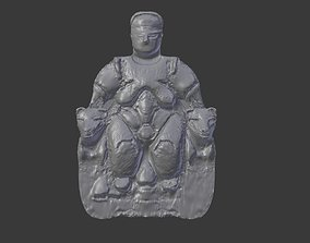 3D printable model Catalcahoyuk Ana Tanrica Catalcahoyuk 1