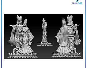 art Krishna Idol 3D Printable model