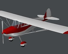 Cessna Airplane 3D asset