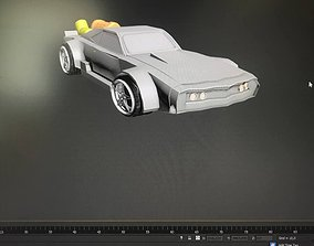 3D asset Dodge Charger Ice