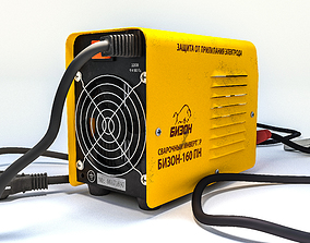 game-ready 3D model Welding machine