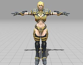 3D model Female Knight