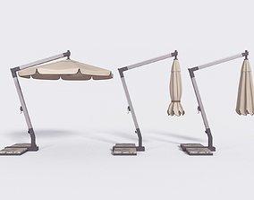 Outdoor Umbrella Parasol 2 3D model