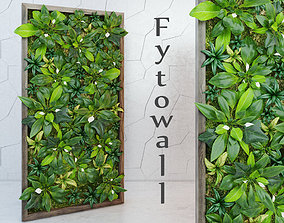 leaf Fytowall spatifilum 3D model