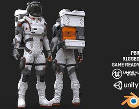 3D model MX02 Male Space Suit LITE VERSION