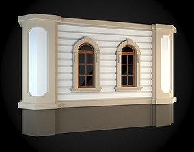 Wall 3D model exterior