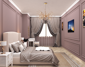 3D model realtime Bedroom Interior Design Aytac