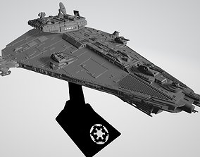 Star Wars Vigil-class imperial corvette 3D print model