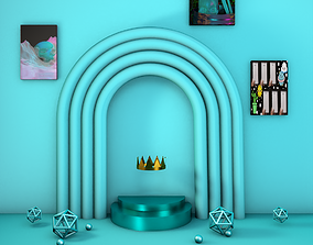 3D model To the crown