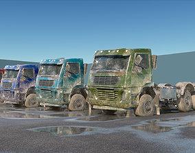 UE4 Abandoned Truck Pack 3D asset