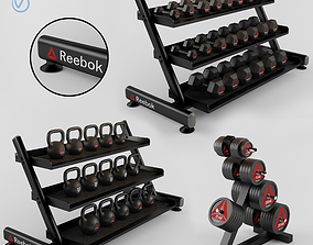 gym Equipment Gym 3D model