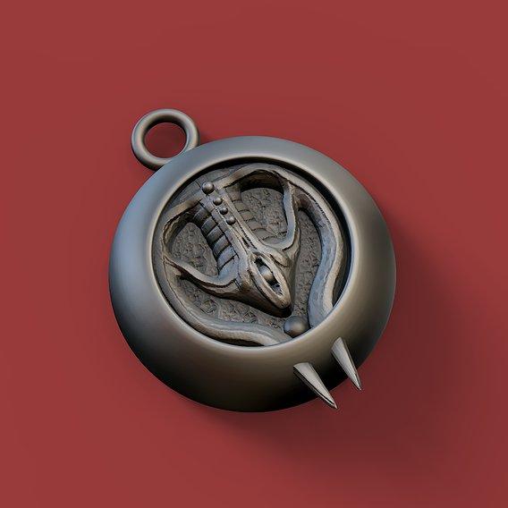 Vampire pendant