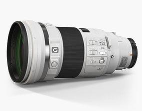 3D model Sony 300mm f 2-8 G SSM II Telephoto Prime Lens