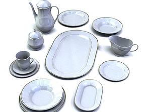 3D Dining Service Set
