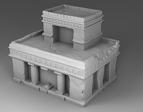 3D print model Large tample of Maya