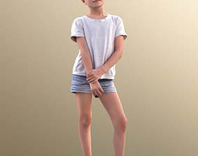 10034 Lilly - Casual Girl Standing 3D model