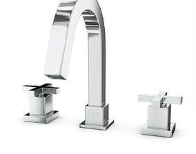 3D model Gro Welle Dusches 811 mixer faucet