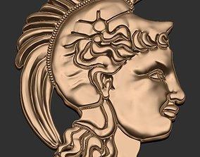 yunan 3D print model goddess athena