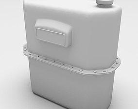 3D Gas Meter Angular