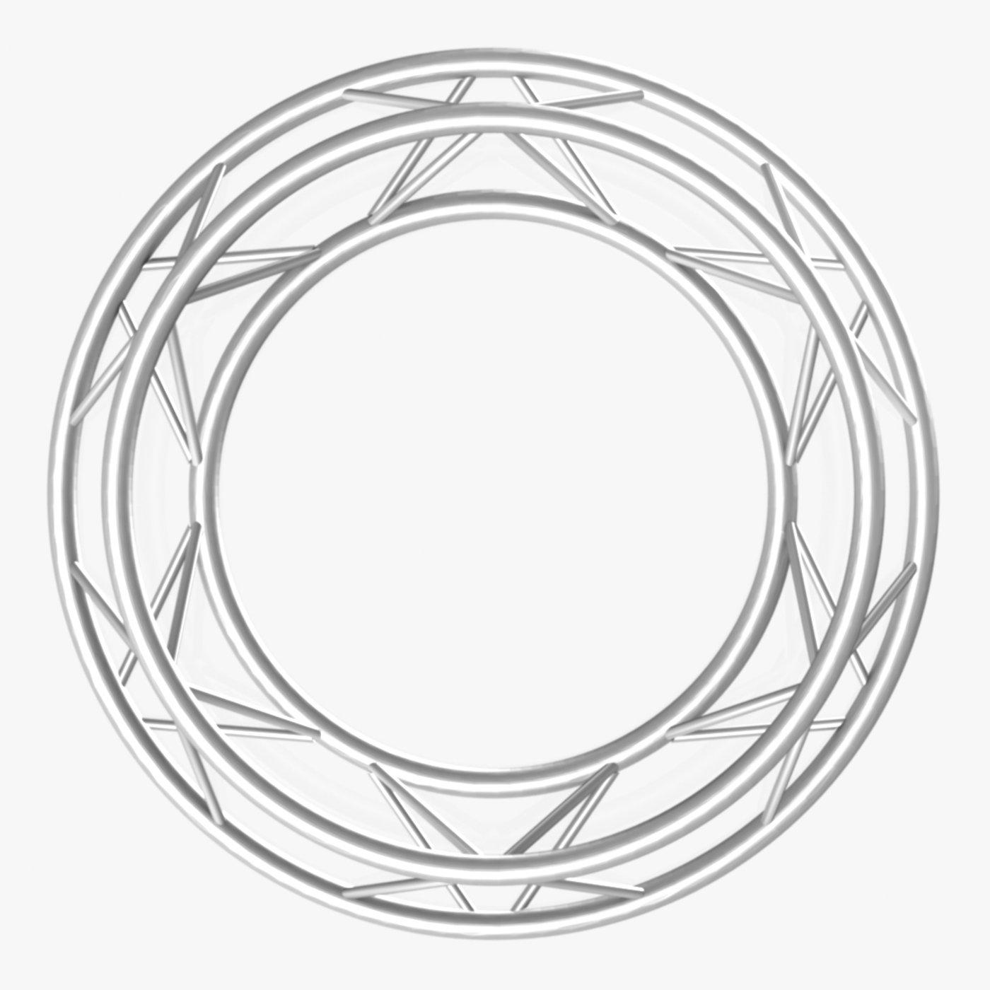 Circle Triangular Truss (Full diameter 150cm)