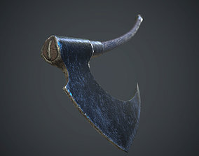 3D asset Albion Frazetta Damage Dealer OLD