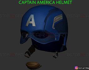 Captain America Helmet - Infinity War 3D printable model 3
