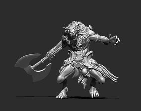 board-games Werewolf 3D print model - Fenrir