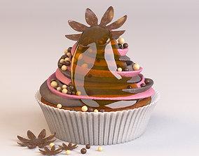 Cake Cupcake 3D model