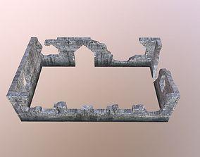 3D model Damaged-Destroyed Building