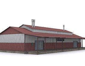 3D asset realtime Warehouse
