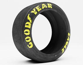lettering Goodyear Eagle Tire V2 3D asset