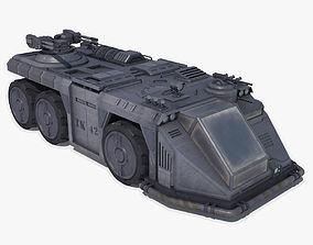 3D model Sci Fi APC