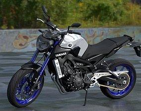 Yamaha MT-09 2014 3D