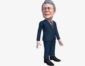 animated Bimmy Clatater 3D caricature
