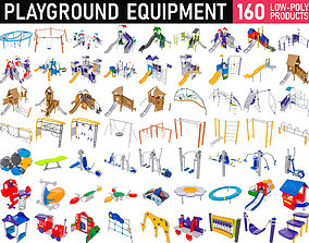 MEGAPACK Playground Equipment - 160 Products 3D