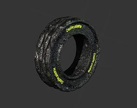 Wheel tire 3D
